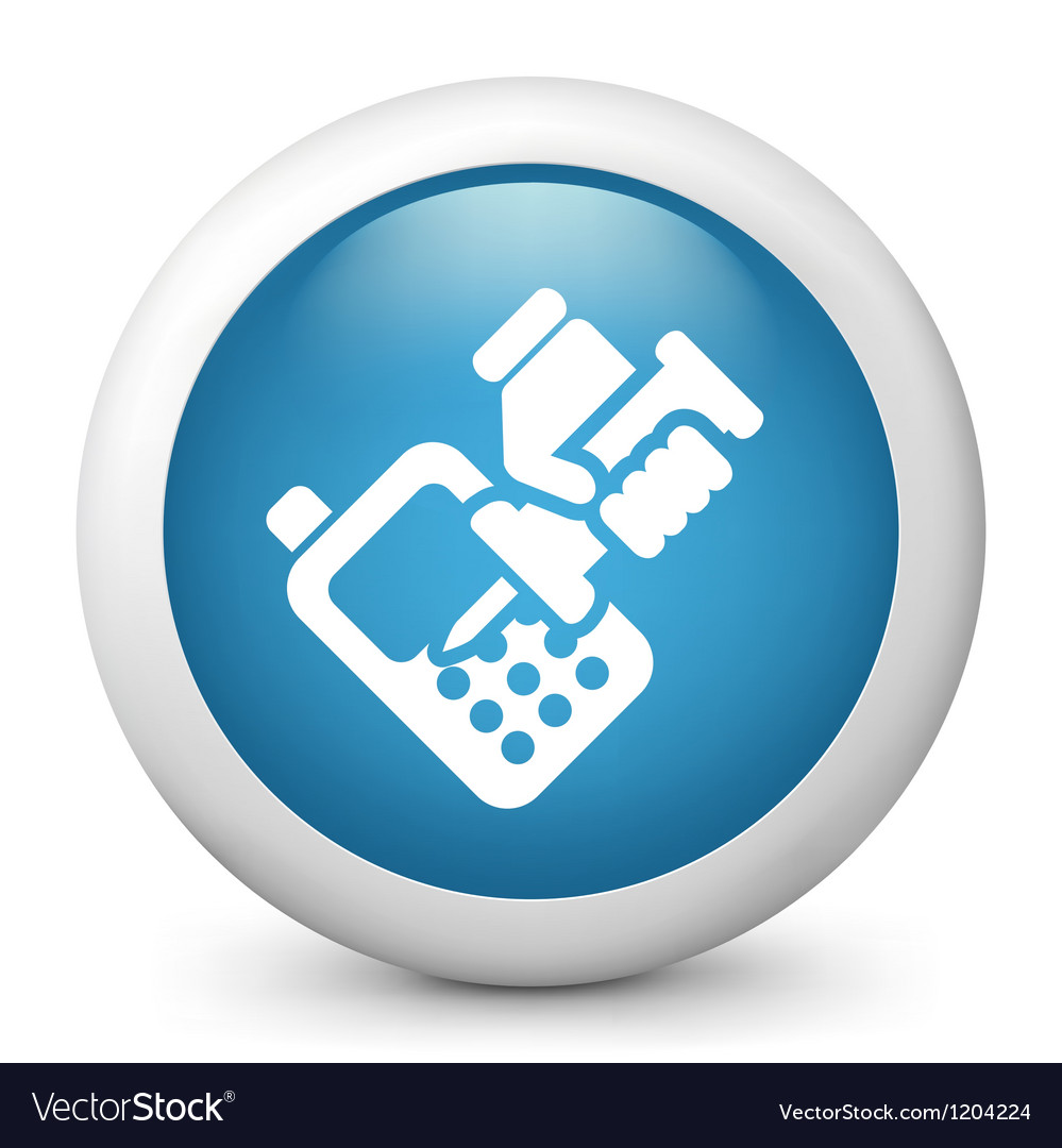 Cellphone repair icon vector | Price: 1 Credit (USD $1)