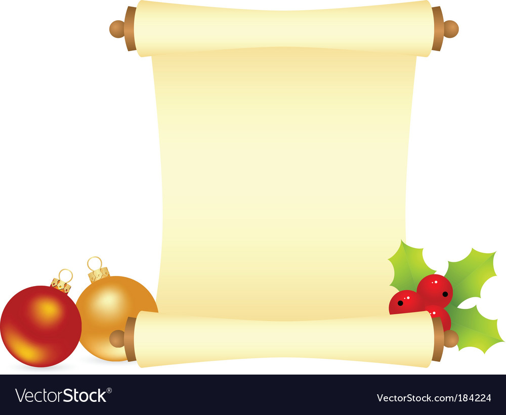 Christmas letter vector | Price: 1 Credit (USD $1)