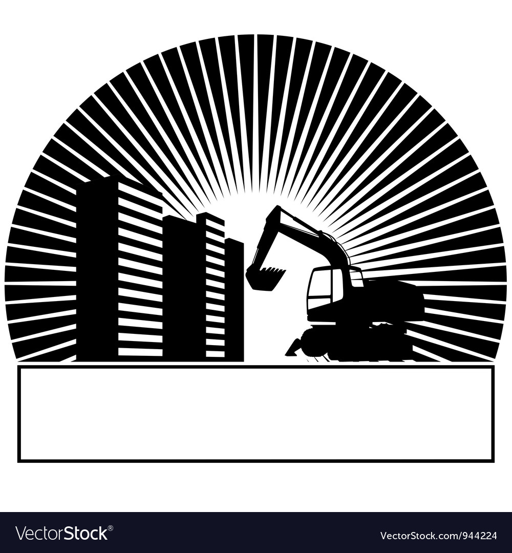 Construction machinery vector | Price: 1 Credit (USD $1)