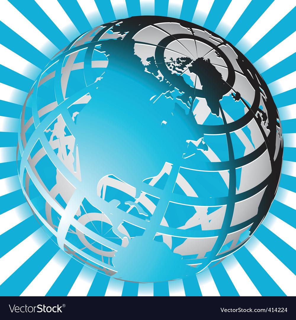 Globe vector | Price: 3 Credit (USD $3)
