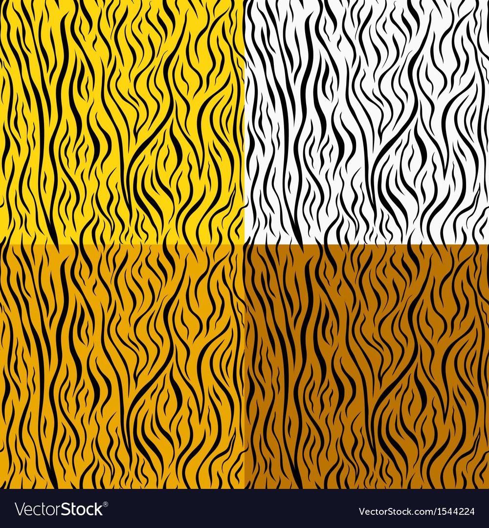 Wild animal skin seamless pattern set vector   Price: 1 Credit (USD $1)