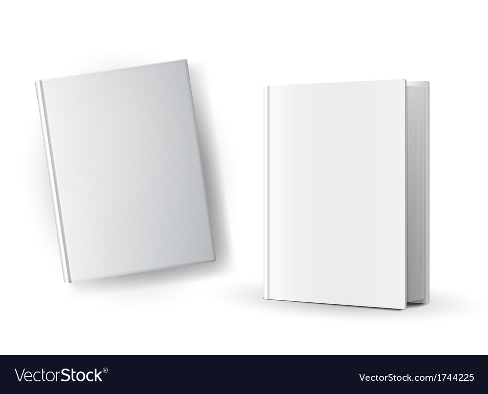 Blank book covers vector | Price: 1 Credit (USD $1)