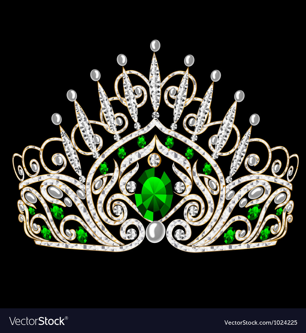 Gem crown vector | Price: 1 Credit (USD $1)