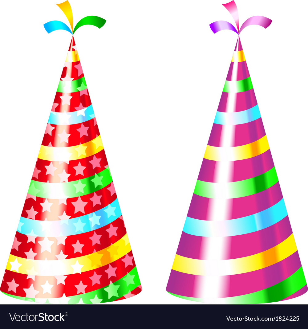 Party hat vector | Price: 1 Credit (USD $1)