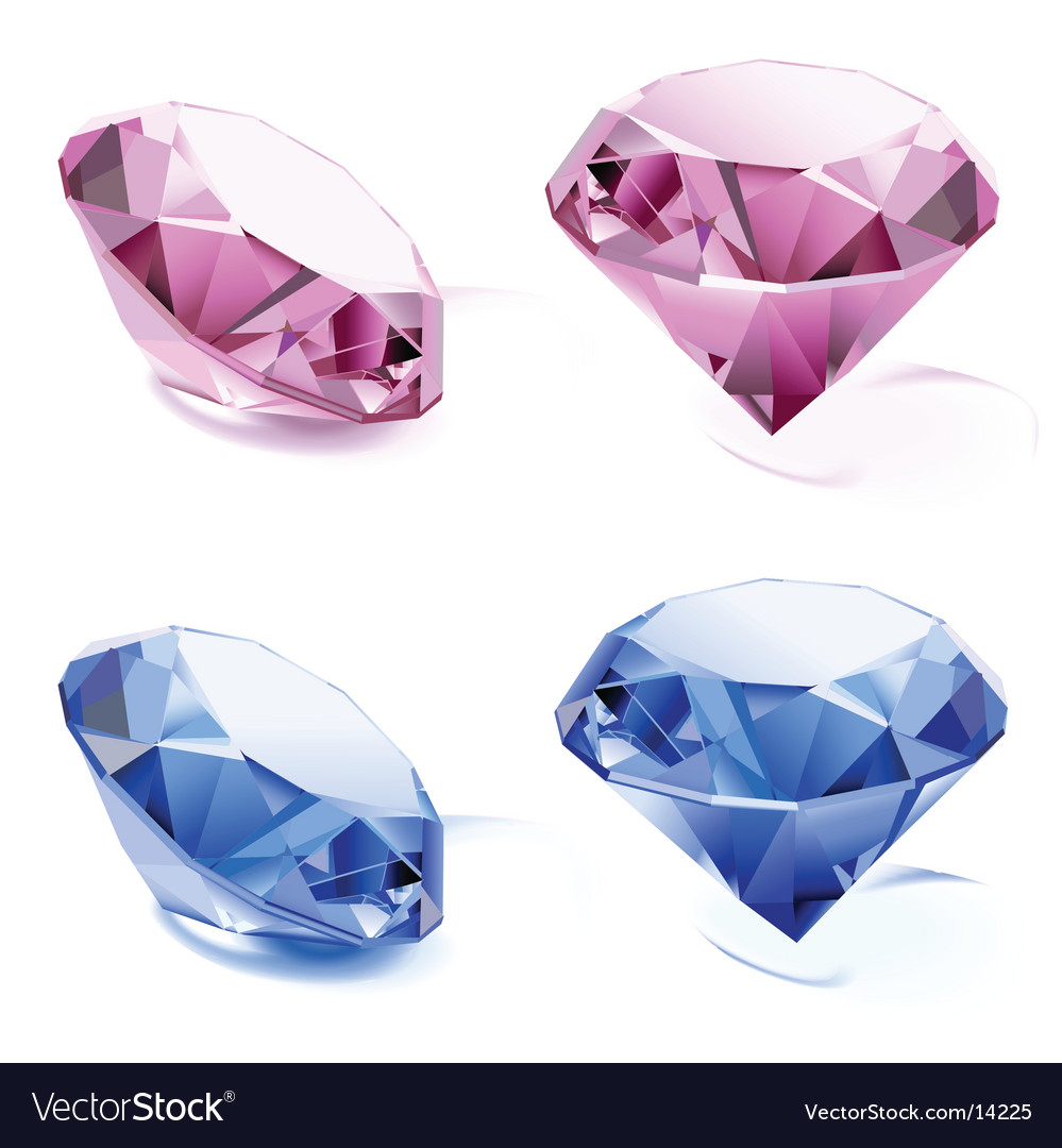 Set of diamonds vector | Price: 3 Credit (USD $3)