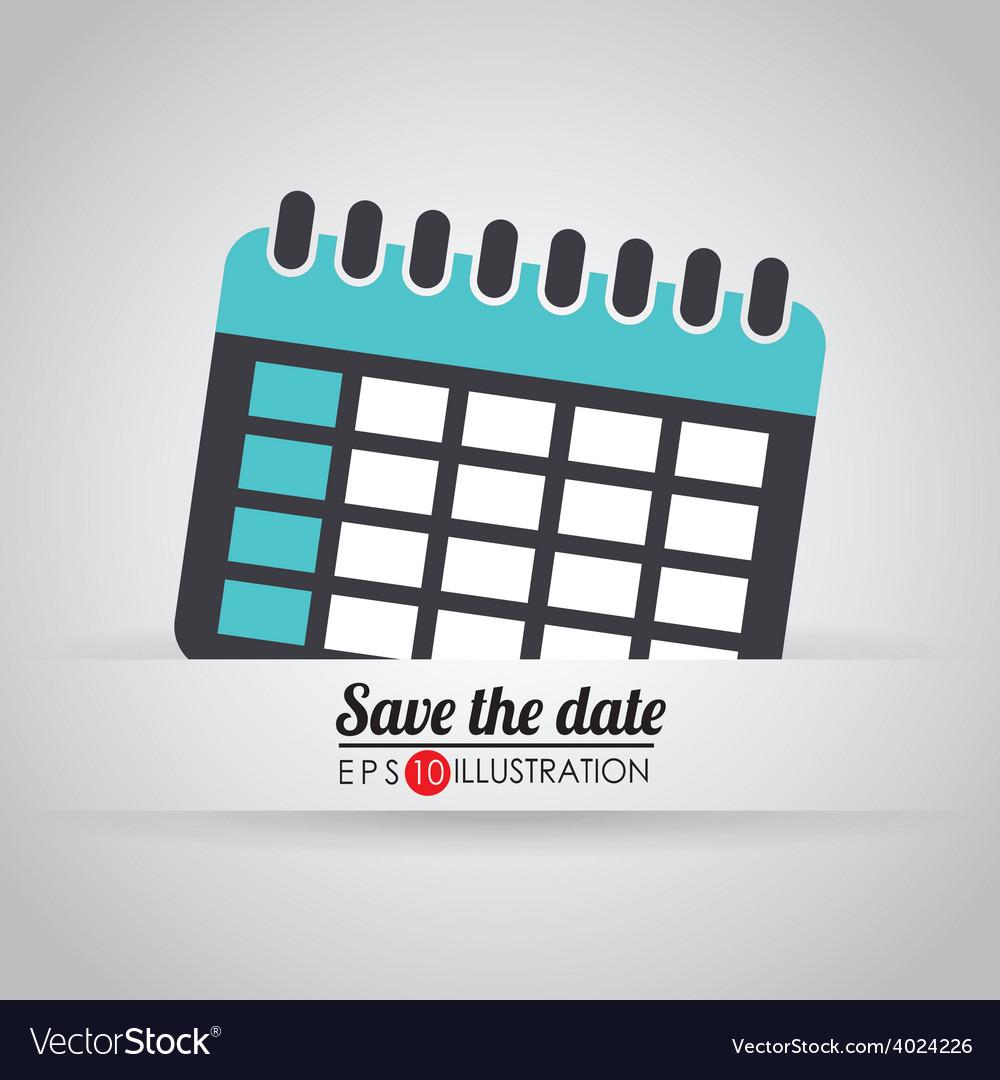 Calendar icon design vector | Price: 1 Credit (USD $1)