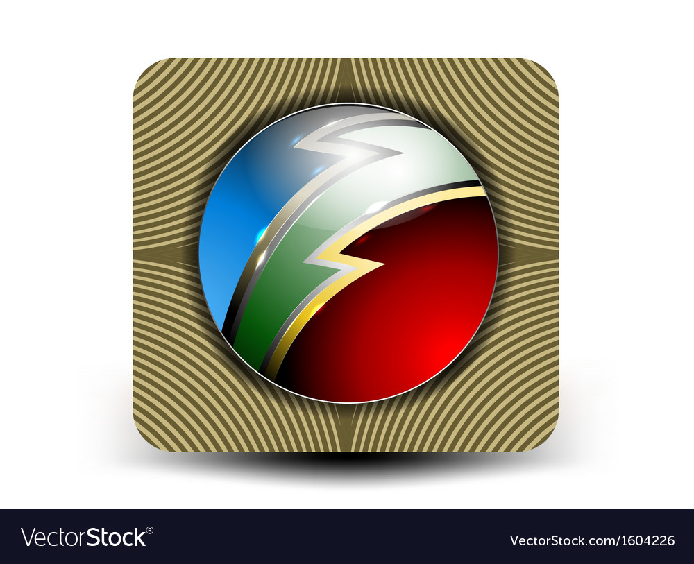 Glossy circular shape abstract business background vector