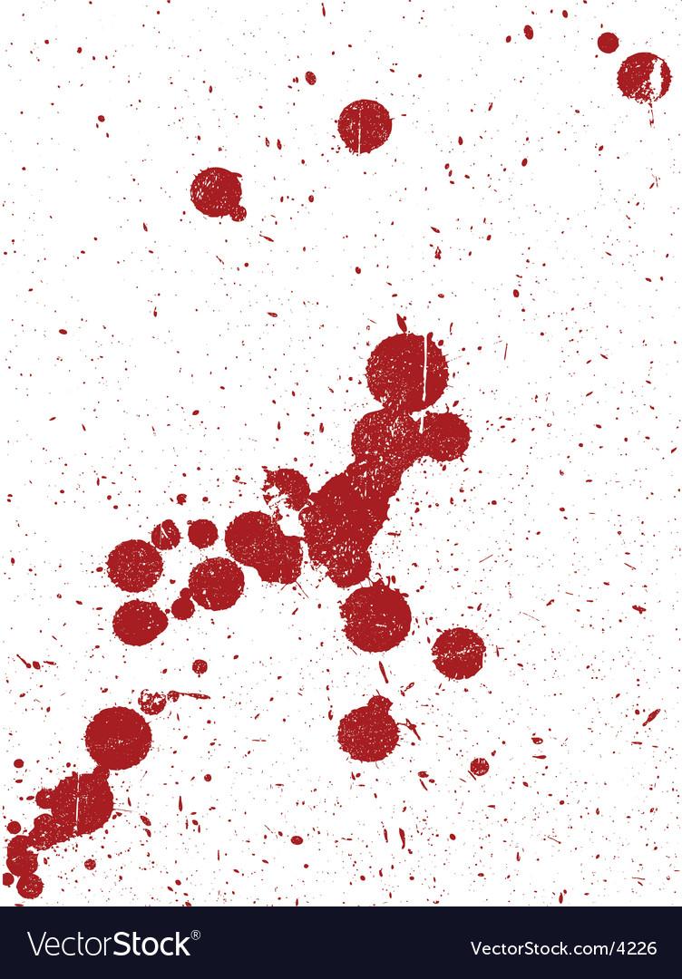 Grunge splats background vector | Price: 1 Credit (USD $1)