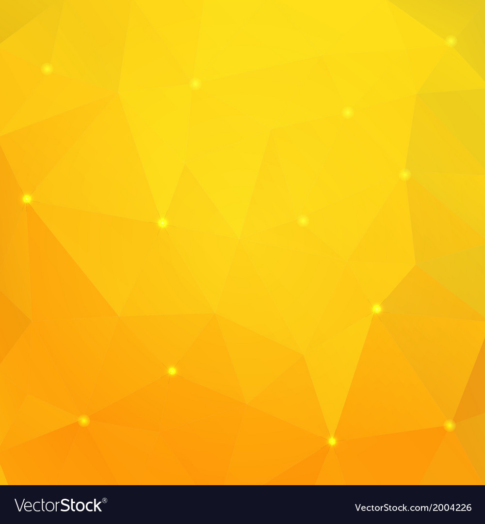Orange triangle background vector | Price: 1 Credit (USD $1)