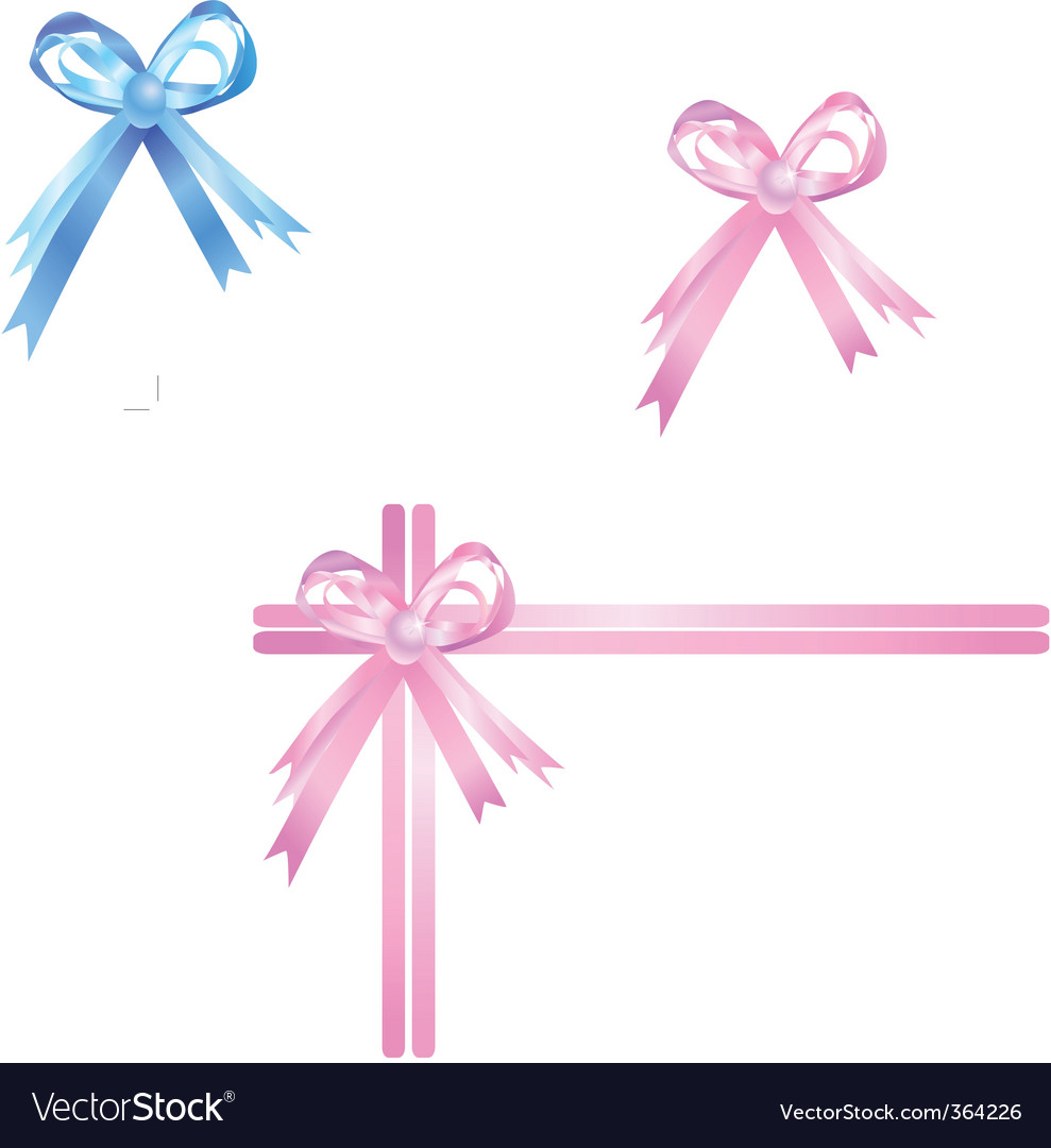 Pink ribbon vector | Price: 1 Credit (USD $1)