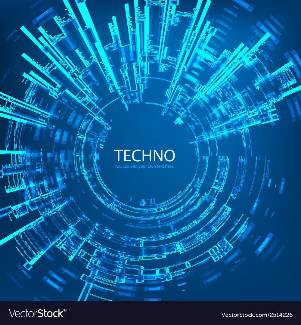 Techno 4 vector | Price: 1 Credit (USD $1)