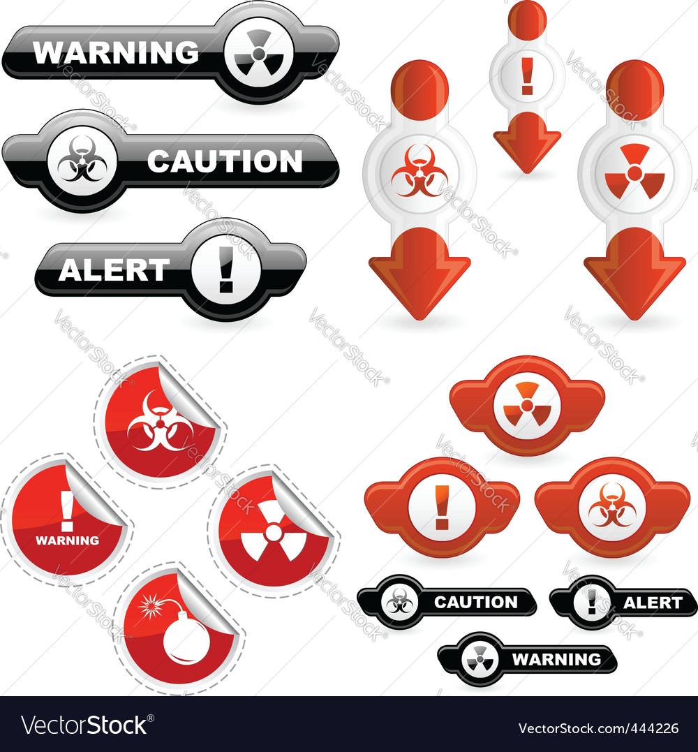 Warning vector | Price: 1 Credit (USD $1)