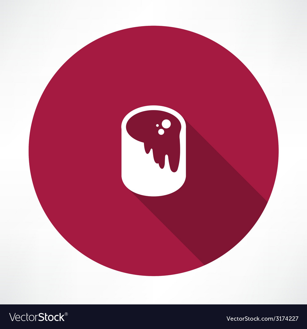 Paint bucket icon vector | Price: 1 Credit (USD $1)