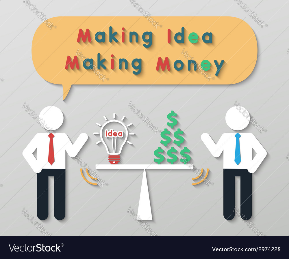 Creative idea business concept vector | Price: 1 Credit (USD $1)