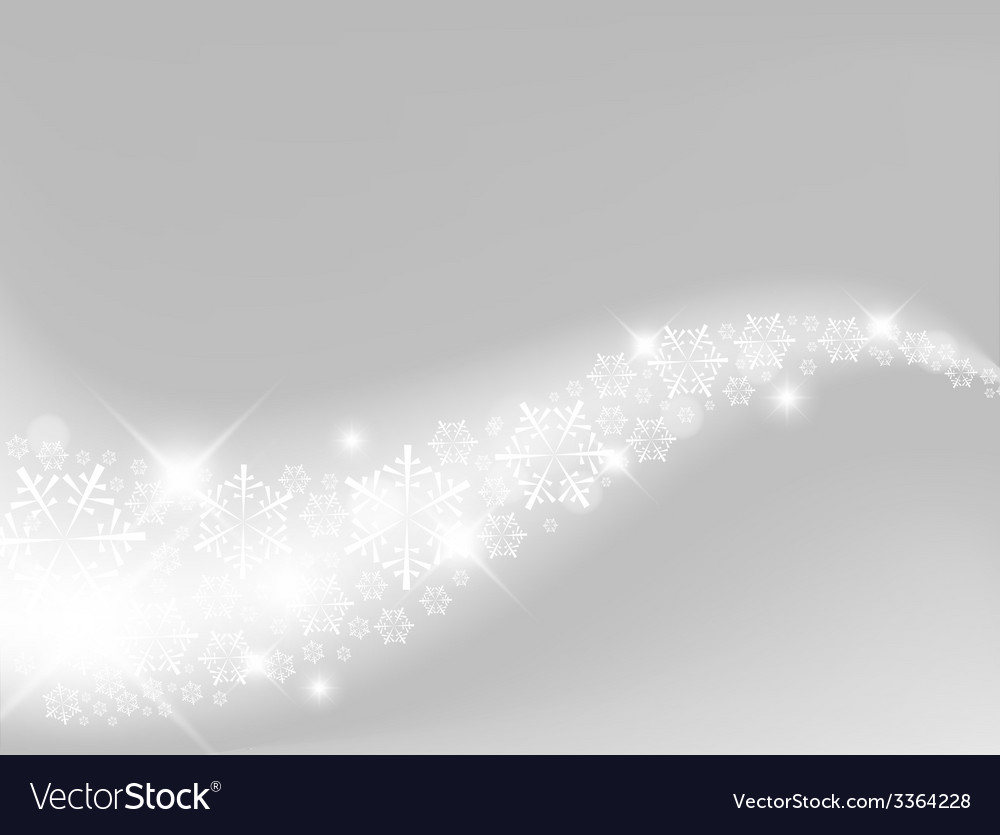 Light silver abstract christmas background vector | Price: 1 Credit (USD $1)