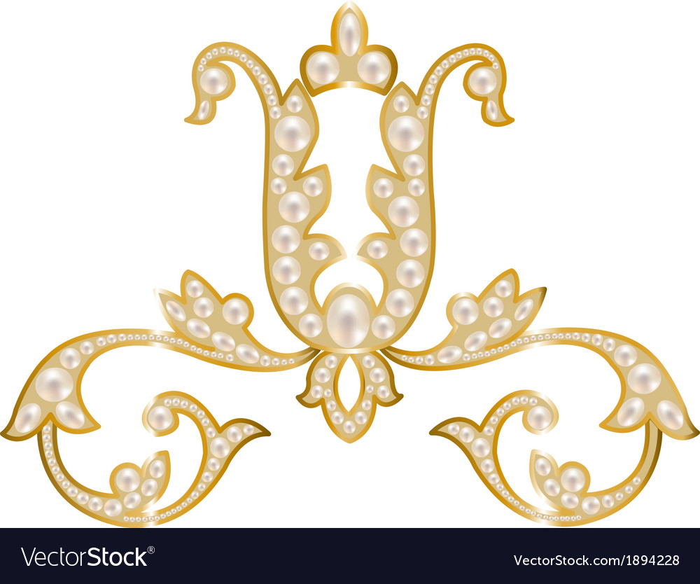 Pearl jewelry vector | Price: 1 Credit (USD $1)