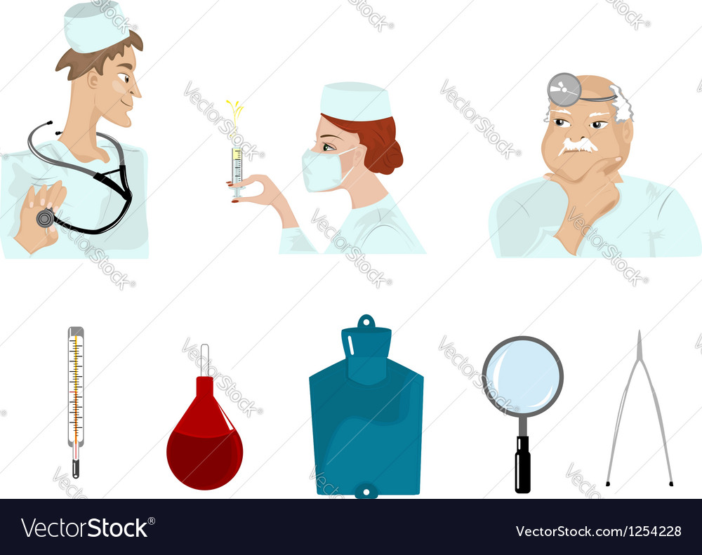 Set of medical images vector | Price: 3 Credit (USD $3)