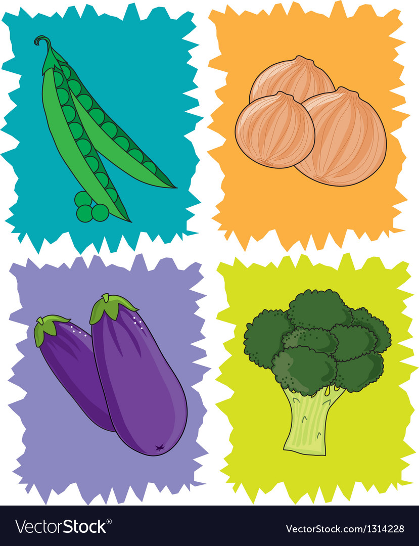 Veggies vector | Price: 1 Credit (USD $1)