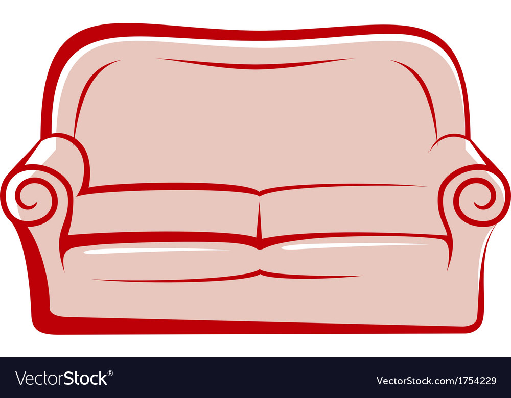 Abstract sofa vector | Price: 1 Credit (USD $1)