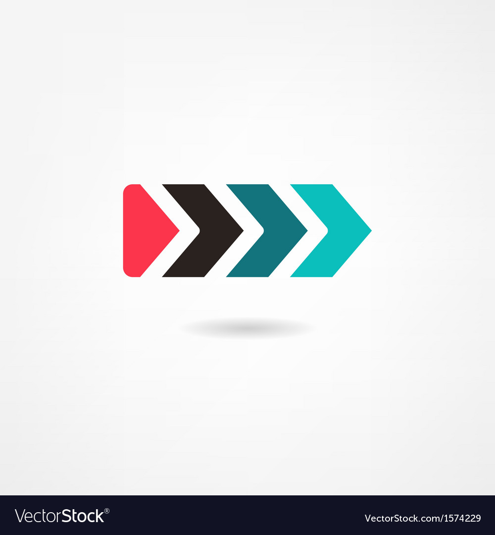 Pointer icon vector | Price: 1 Credit (USD $1)