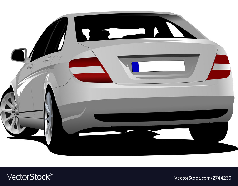 Al 0610 car sedan vector | Price: 1 Credit (USD $1)