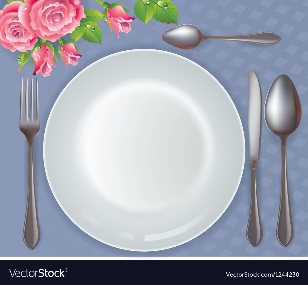 Celebratory tableware vector | Price: 1 Credit (USD $1)