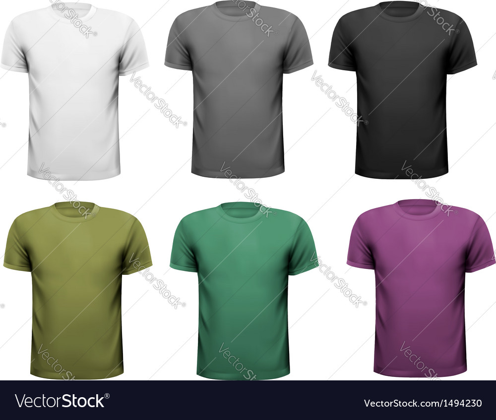 Men t-shirts design vector | Price: 1 Credit (USD $1)