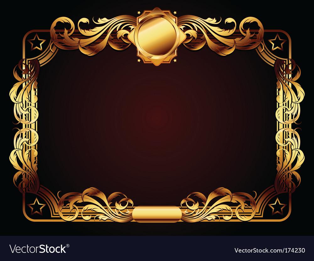 Ornate frame vector   Price: 1 Credit (USD $1)