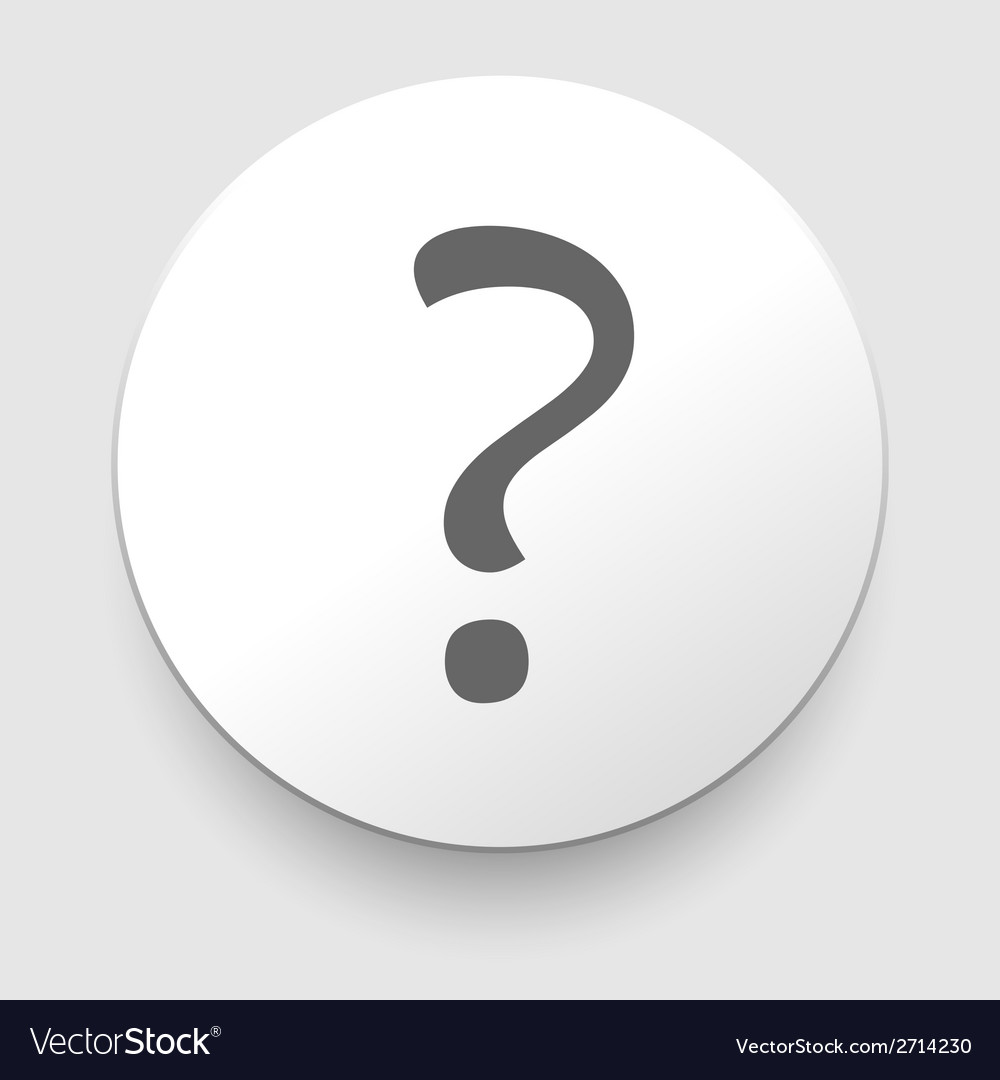 Question mark sign icon help symbol faq sign vector | Price: 1 Credit (USD $1)