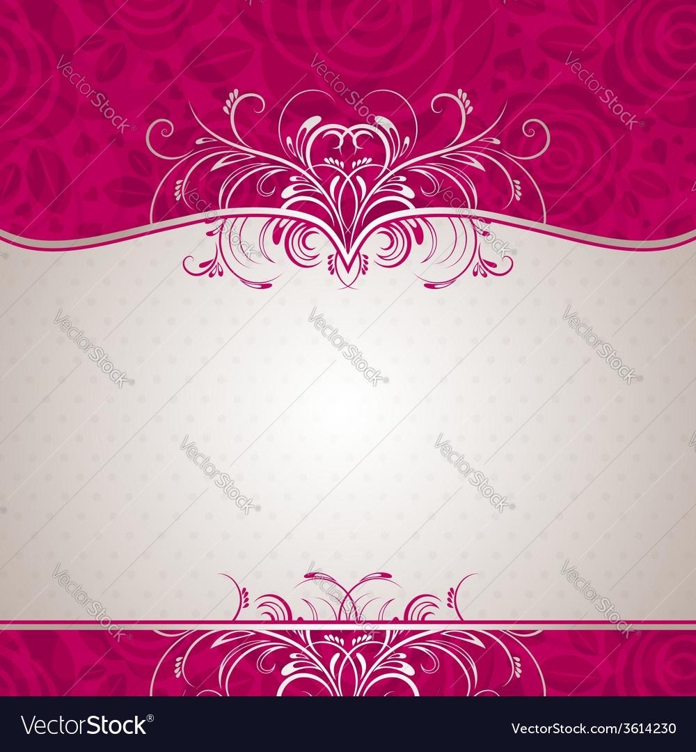 Valentine background with many roses vector | Price: 1 Credit (USD $1)
