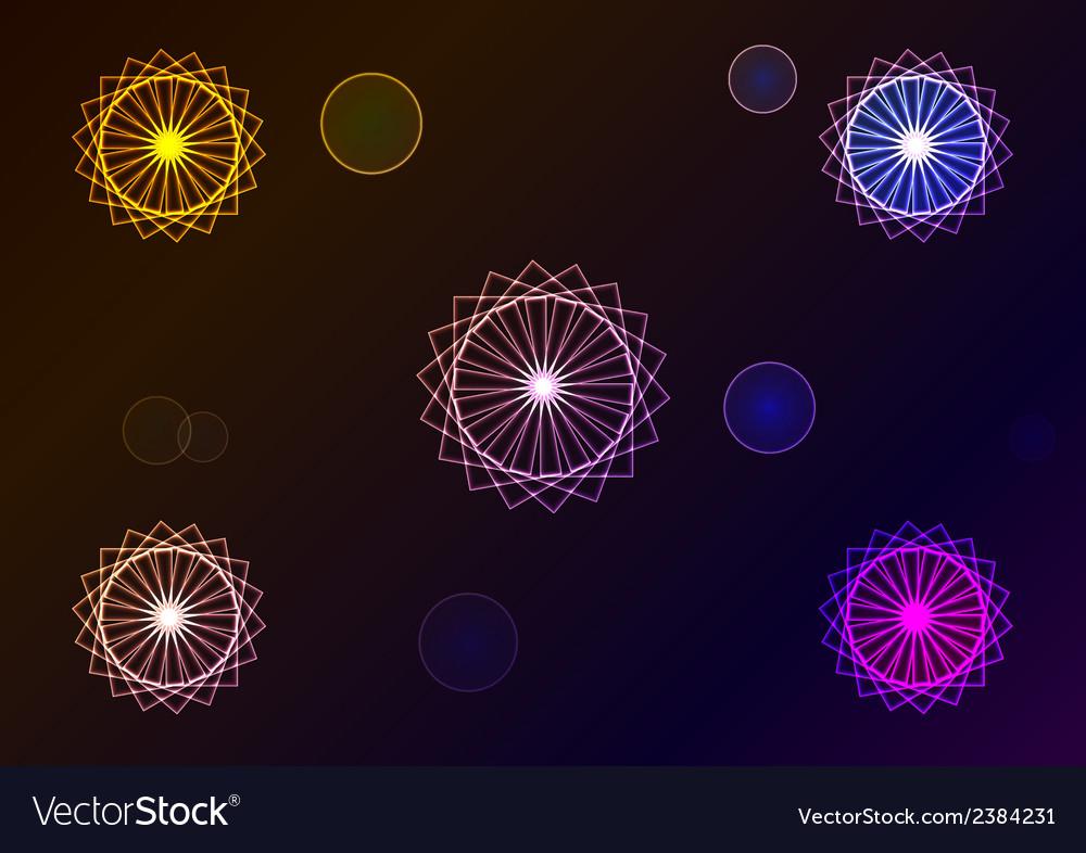 Geometric signs vector | Price: 1 Credit (USD $1)