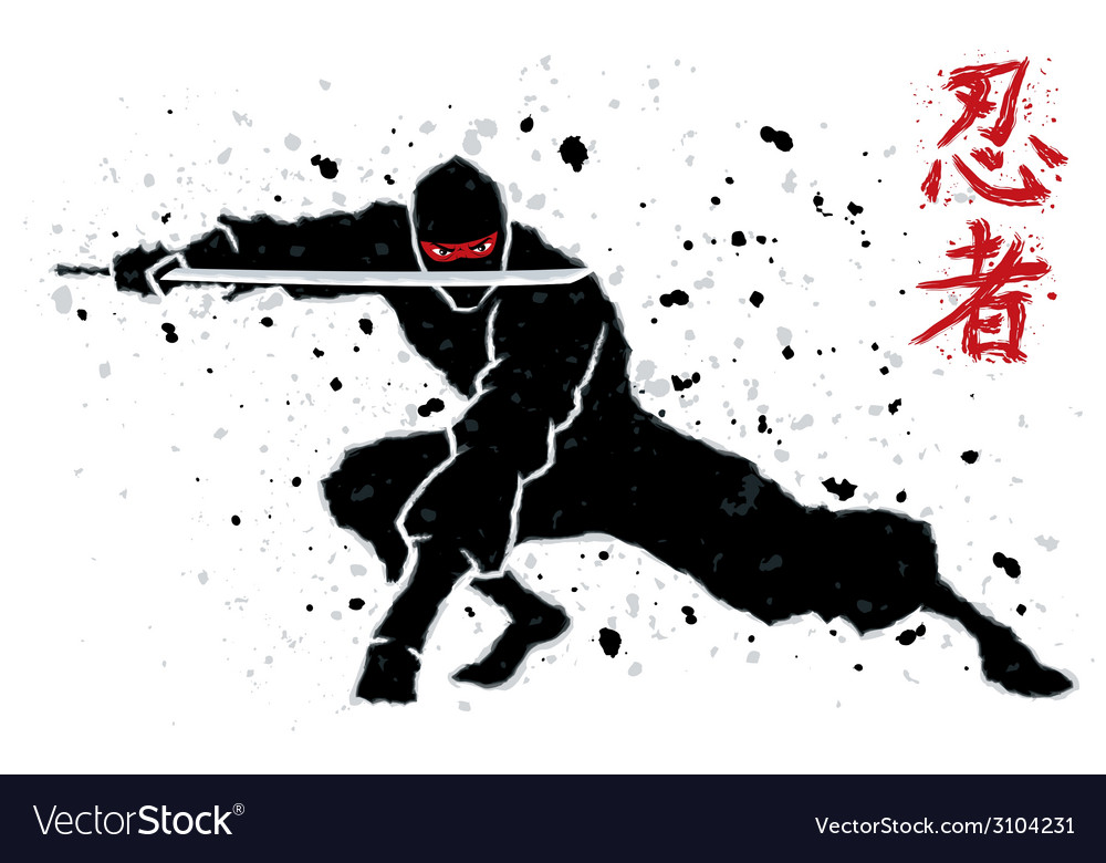 Ninja vector | Price: 1 Credit (USD $1)