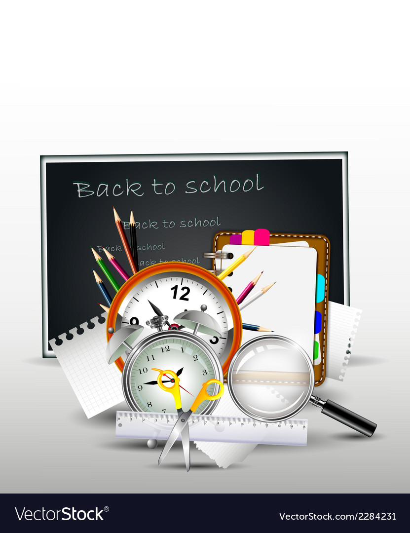 School supplies for you design vector   Price: 1 Credit (USD $1)