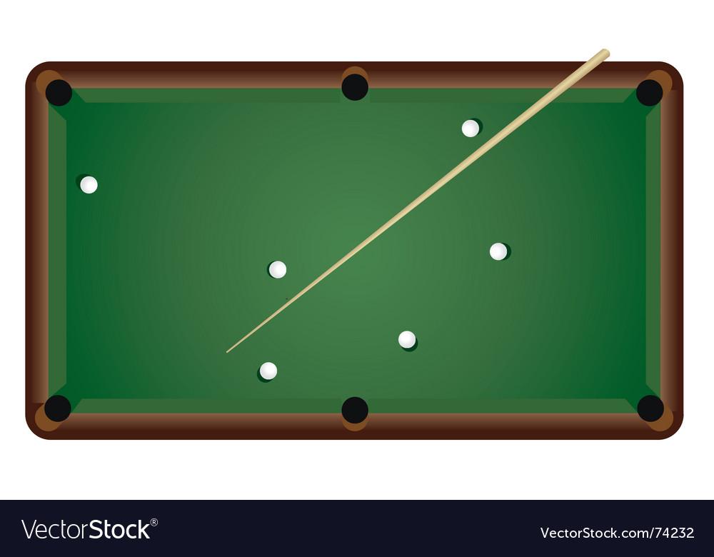 Billiards vector | Price: 1 Credit (USD $1)
