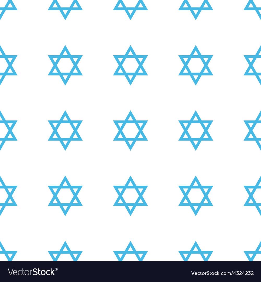 Unique judaism seamless pattern vector | Price: 1 Credit (USD $1)