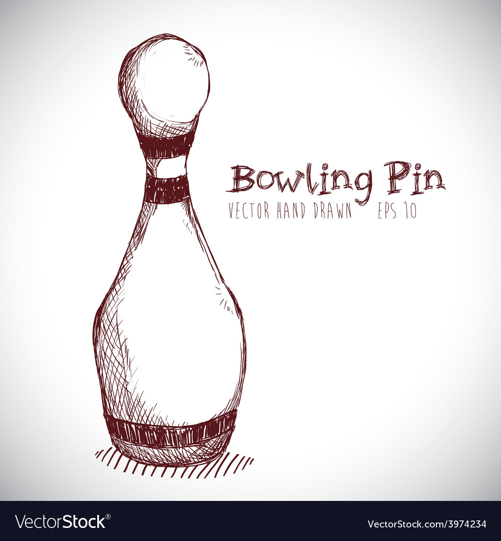Bowling sport vector | Price: 1 Credit (USD $1)
