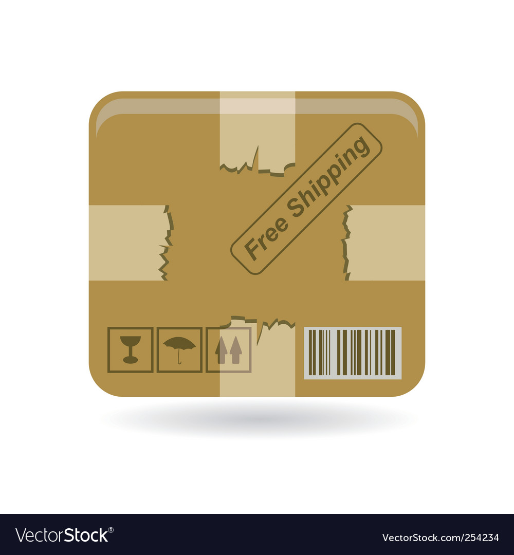 Box icon vector | Price: 1 Credit (USD $1)