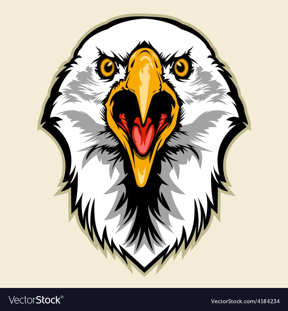 Eagle head vector | Price: 3 Credit (USD $3)