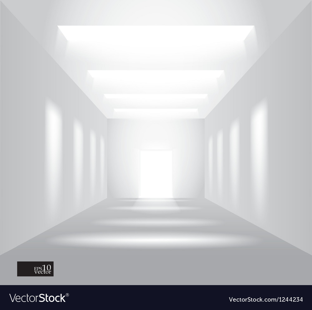 Hall perspective vector | Price: 1 Credit (USD $1)