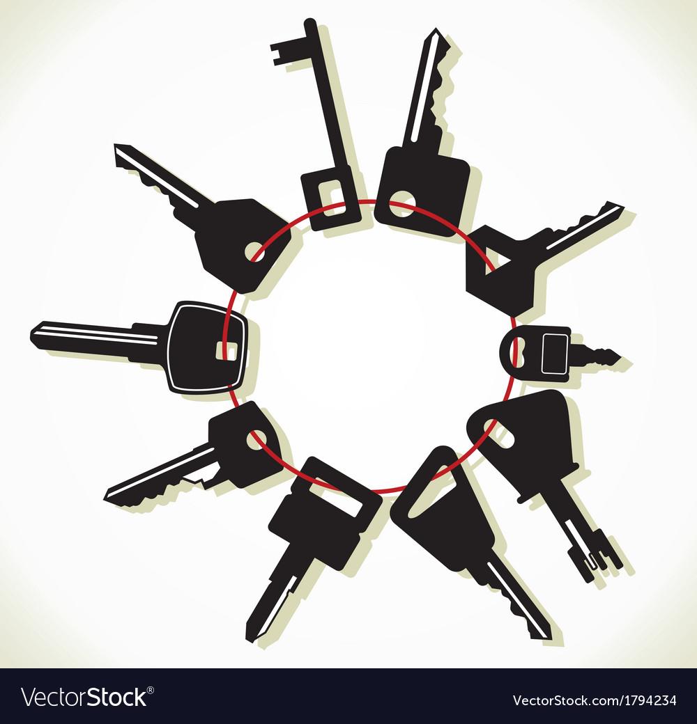 Kljucevi svita resize vector | Price: 1 Credit (USD $1)