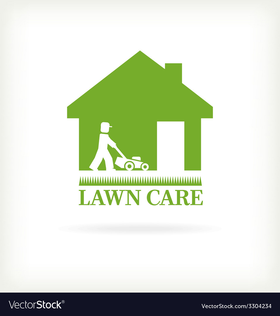 Lawn care symbol vector | Price: 1 Credit (USD $1)
