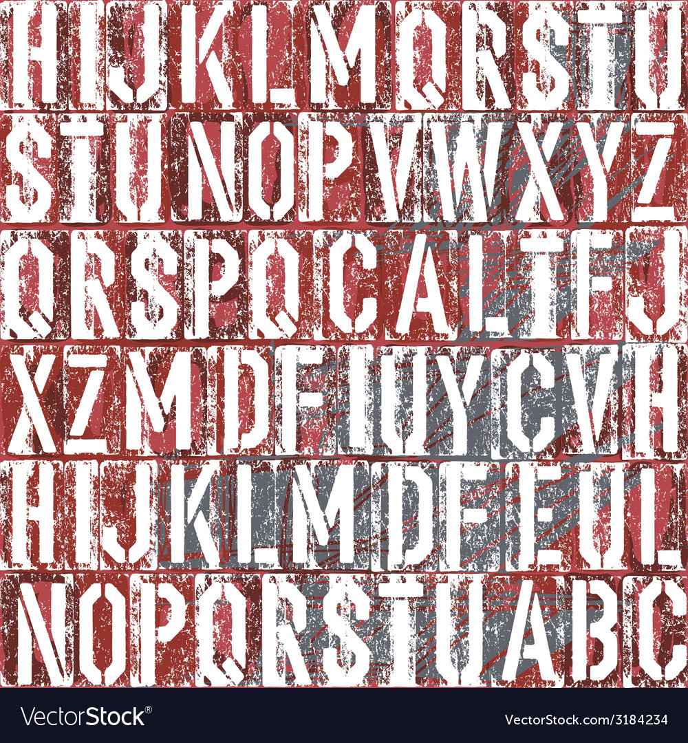 Letterpress background vector | Price: 1 Credit (USD $1)
