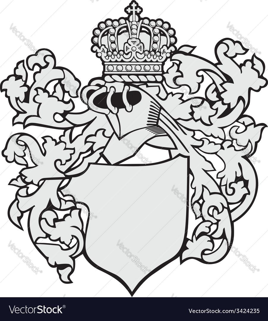 Aristocratic emblem no30 vector | Price: 1 Credit (USD $1)