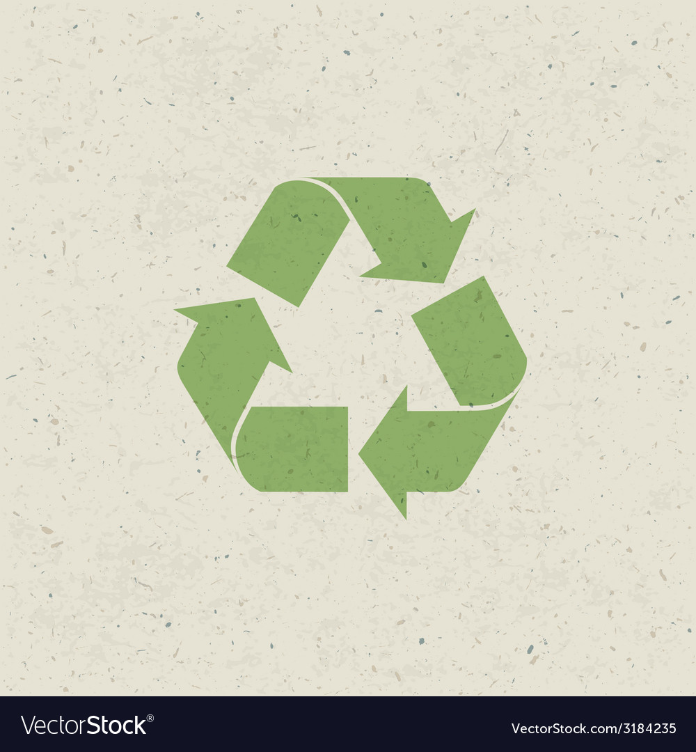 Recycled design set vector | Price: 1 Credit (USD $1)