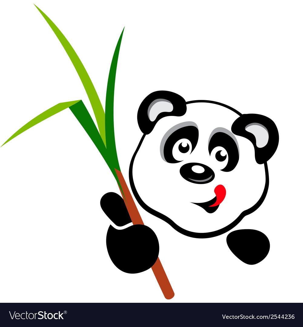 Panda head vector | Price: 1 Credit (USD $1)