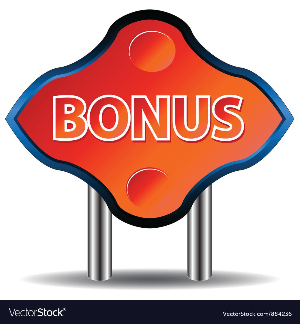 Unique bonus icon vector | Price: 1 Credit (USD $1)