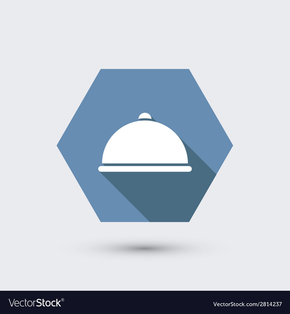 Modern flat icon with long shadow vector | Price: 1 Credit (USD $1)