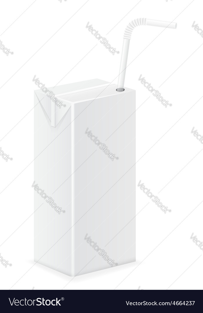 Package with juice 10 vector   Price: 3 Credit (USD $3)