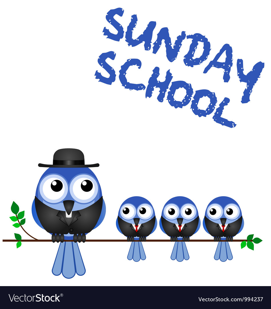 Sunday school perch vector | Price: 1 Credit (USD $1)