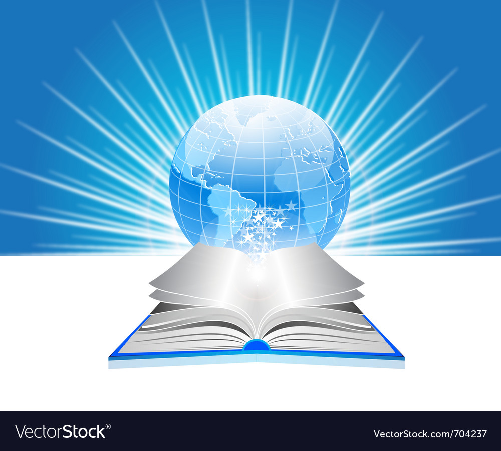 World library vector | Price: 1 Credit (USD $1)